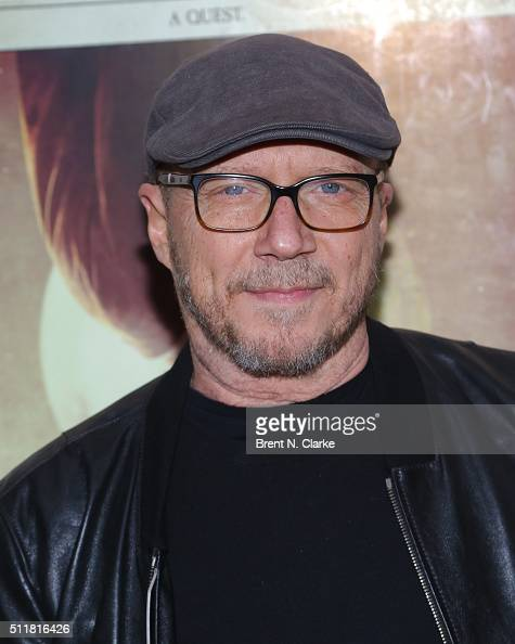 Director Paul Haggis attends the 'Knight of Cups' New York screening held at Metrograph on February 22 2016 in New York City