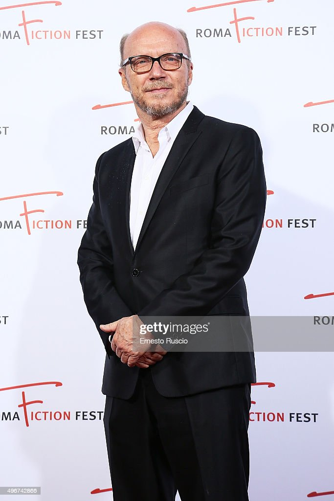 Director Paul Haggis attends the 'Lea' red carpet during the RomaFictionFest 2015 at Auditorium Conciliazione on November 11, 2015 in Rome, Italy.