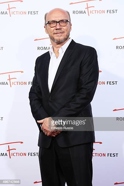 Director Paul Haggis attends the 'Lea' red carpet during the RomaFictionFest 2015 at Auditorium Conciliazione on November 11 2015 in Rome Italy