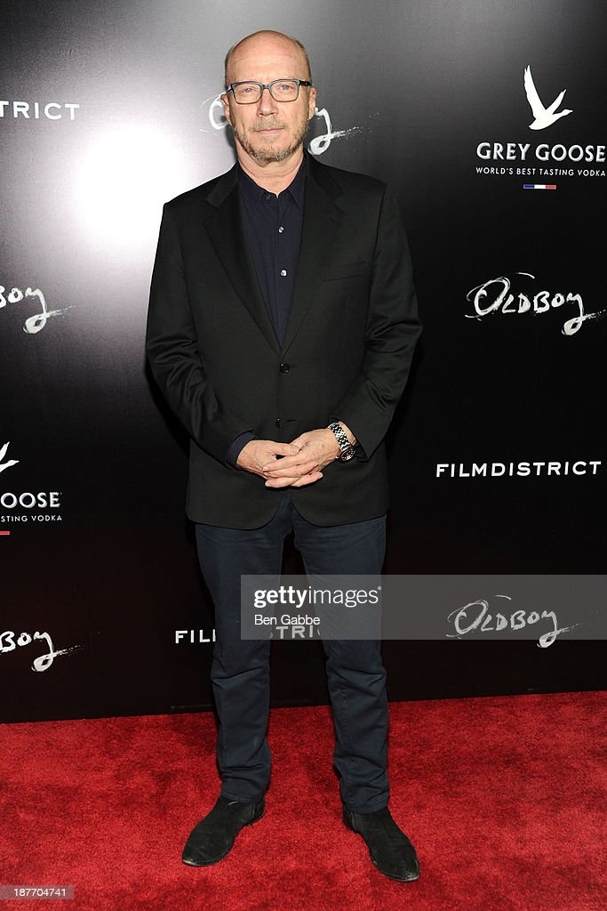 Director <a gi-track='captionPersonalityLinkClicked' href=/galleries/search?phrase=Paul+Haggis&family=editorial&specificpeople=213967 ng-click='$event.stopPropagation()'>Paul Haggis</a> attends the screening of 'Oldboy' hosted by FilmDistrict and Complex Media with the Cinema Society and Grey Goose at AMC Lincoln Square Theater on November 11, 2013 in New York City.