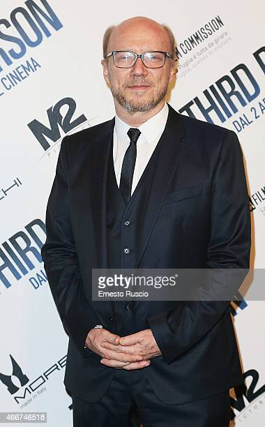 Director Paul Haggis attends the 'Third Person' screening at Cinema Adriano on March 18 2015 in Rome Italy