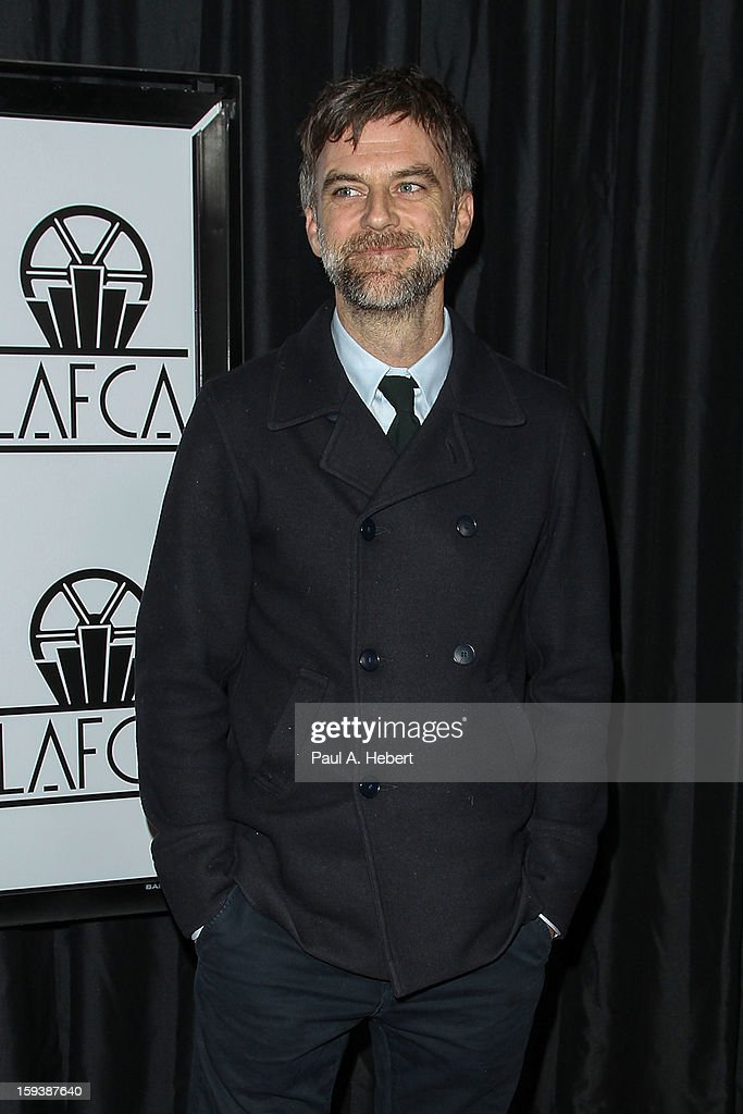 Director <a gi-track='captionPersonalityLinkClicked' href=/galleries/search?phrase=Paul+Thomas+Anderson&family=editorial&specificpeople=820943 ng-click='$event.stopPropagation()'>Paul Thomas Anderson</a> arrives at the 38th Annual Los Angeles Film Critics Association Awards held at the InterContinental Hotel on January 12, 2013 in Century City, California.