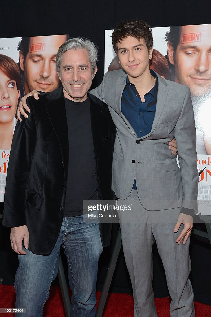 Director Paul Weitz and actor Nat Wolff attend the 'Admission' New York Premiere at AMC Loews Lincoln Square 13 on March 5, 2013 in New York City.