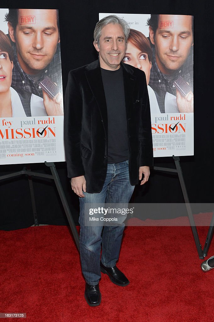 Director Paul Weitz attends the 'Admission' New York Premiere at AMC Loews Lincoln Square 13 on March 5, 2013 in New York City.
