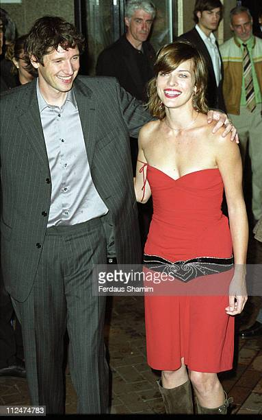 Director Paul WS Anderson and Milla Jovovich during 'Resident Evil' Premiere London at Warner Cinema Leciester Square London in London England Great...