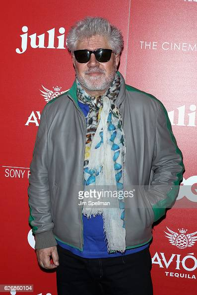 Director Pedro Almodovar attends the screening of Sony Pictures Classics' 'Julieta' hosted by The Cinema Society with Avion and GQ at Landmark...