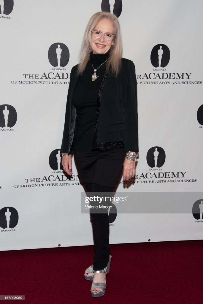 Director Penelope Spheeris attends Academy Of Motion Picture Arts And Sciences Hosts A 'Wayne's World' Reunion at AMPAS Samuel Goldwyn Theater on April 23, 2013 in Beverly Hills, California.