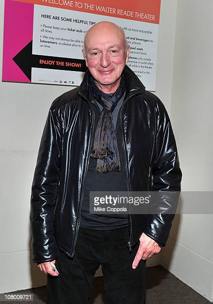 Director Percy Adlon attends the premiere of 'Mahler on the Couch' during the 20th annual New York Jewish Film Festival at the Walter Reade Theater...