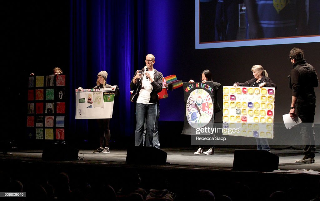 Director <a gi-track='captionPersonalityLinkClicked' href=/galleries/search?phrase=Pete+Docter&family=editorial&specificpeople=3014517 ng-click='$event.stopPropagation()'>Pete Docter</a> speaks at Mike's Field Trip to the Movies at the Arlington Theater at the 31st Santa Barbara International Film Festival on February 5, 2016 in Santa Barbara, California.