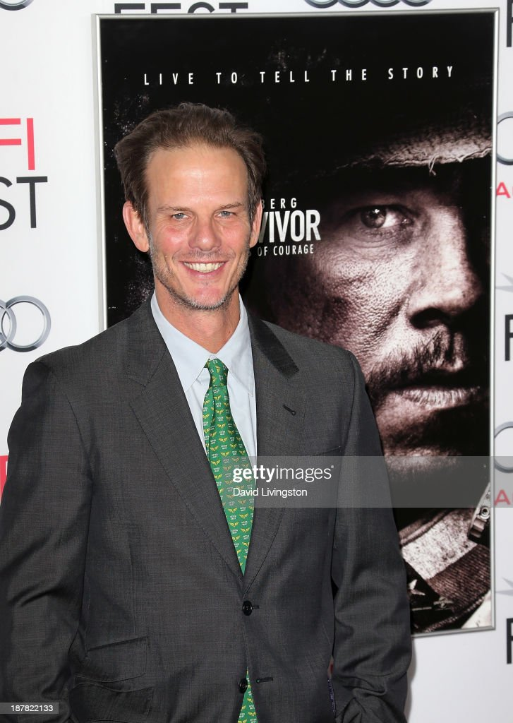 Director <a gi-track='captionPersonalityLinkClicked' href=/galleries/search?phrase=Peter+Berg&family=editorial&specificpeople=221450 ng-click='$event.stopPropagation()'>Peter Berg</a> attends the AFI FEST 2013 presented by Audi premiere of 'Lone Survivor' at the TCL Chinese Theatre on November 12, 2013 in Hollywood, California.