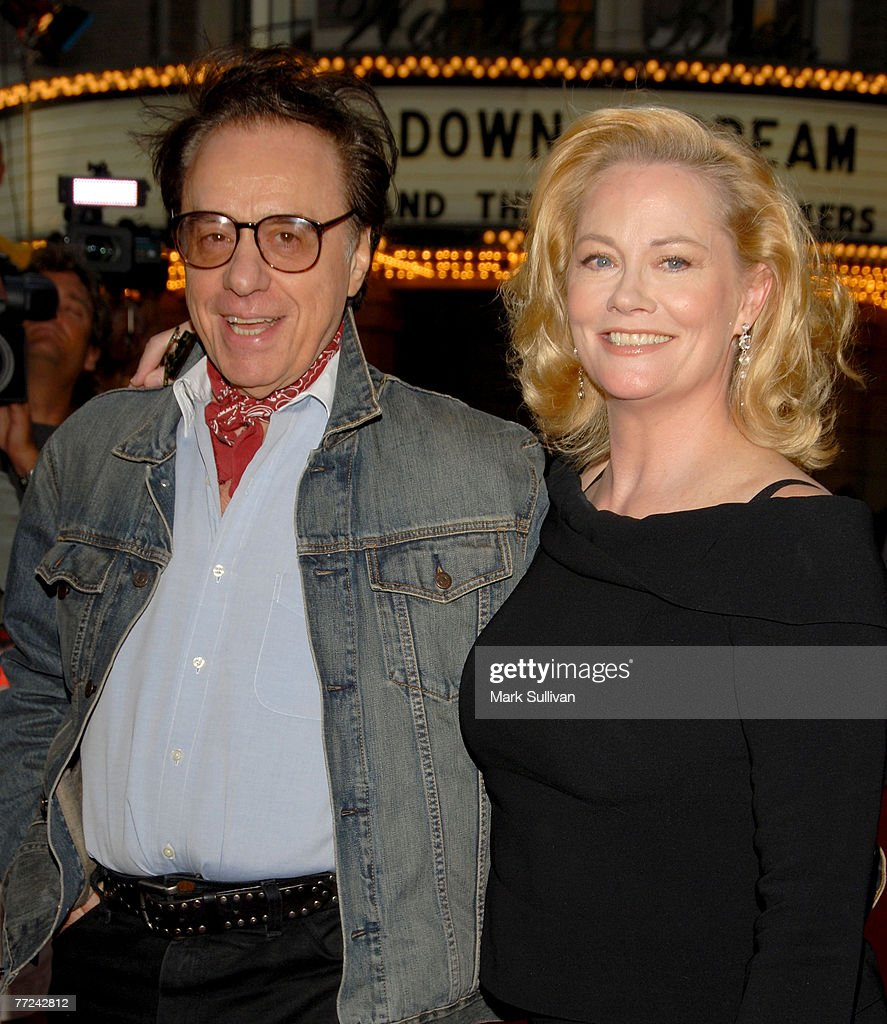 Director Peter Bogdanovich and actress Cybill Shepherd arrives at Runnin' Down A Dream: Tom Petty and The Heartbreakers premiere held in Burbank, California on October 2, 2007.