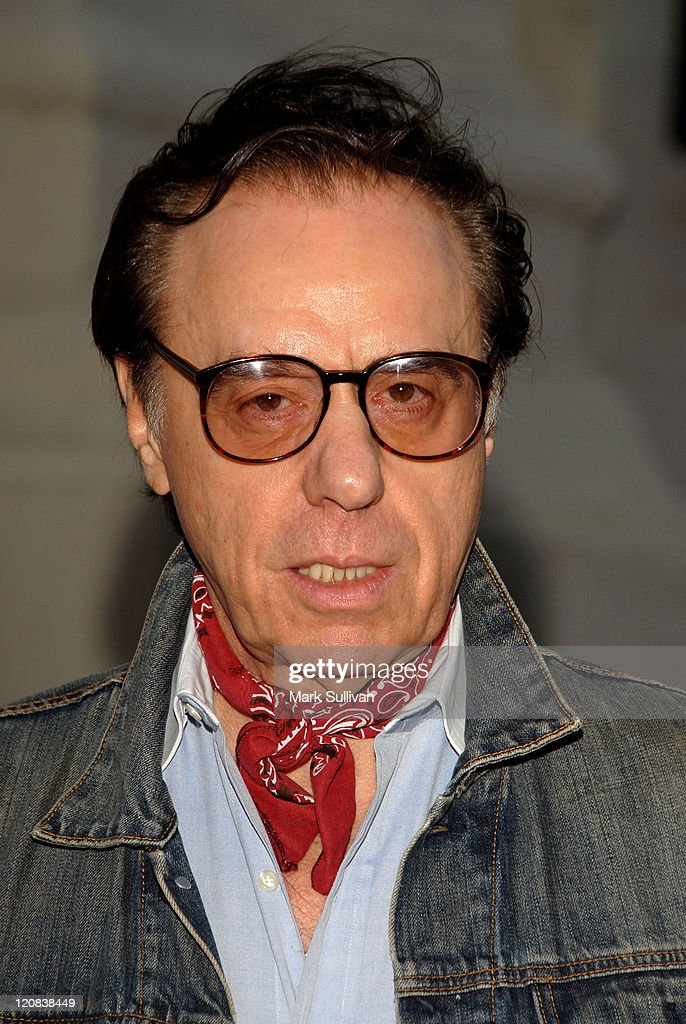 Director Peter Bogdanovich arrives at Runnin' Down A Dream: Tom Petty and The Heartbreakers premiere held in Burbank, California on October 2, 2007.