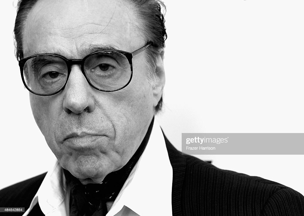. Director Peter Bogdanovich arrives at the Premiere Of Lionsgate Premiere's 'She's Funny That Way' at Harmony Gold on August 19, 2015 in Los Angeles, California.