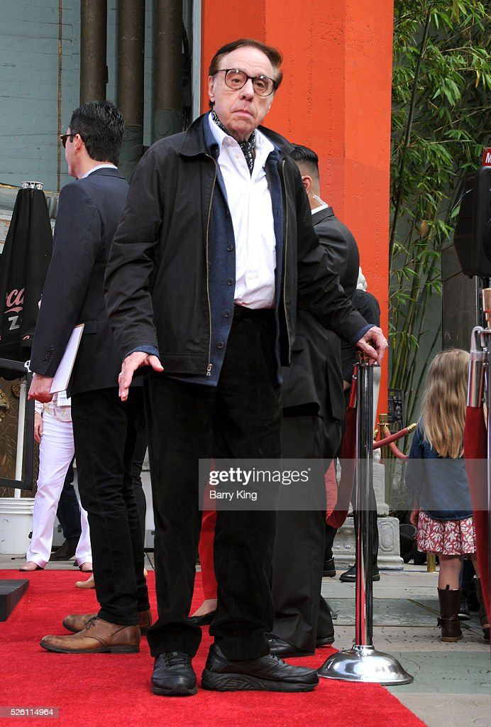 Director <a gi-track='captionPersonalityLinkClicked' href=/galleries/search?phrase=Peter+Bogdanovich&family=editorial&specificpeople=208149 ng-click='$event.stopPropagation()'>Peter Bogdanovich</a> attends Francis Ford Coppola Hand and Footprint Ceremony at TCL Chinese Theatre IMAX on April 29, 2016 in Hollywood, California.