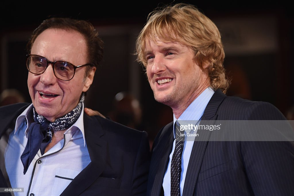 Director Peter Bogdanovich wearing a JaegerLeCoultre watch and actor Owen Wilson attend the 'She's Funny That Way' during the 71st Venice Film...