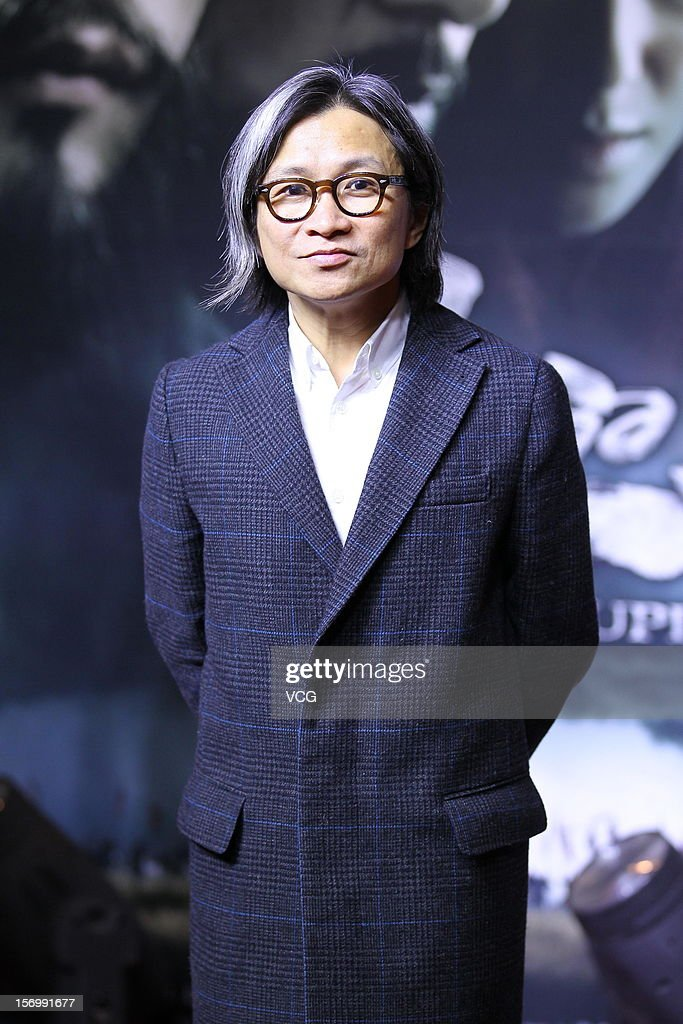 Director Peter Chan attends 'The Last Supper' premiere at China World Trade Center Tower III on November 26, 2012 in Beijing, China.