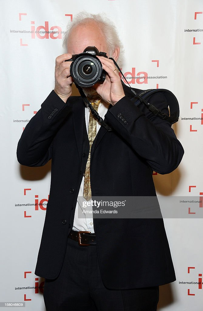 Director Peter Gerdehag arrives at the International Documentary Association's 2012 IDA Documentary Awards at The Directors Guild Of America on December 7, 2012 in Los Angeles, California.