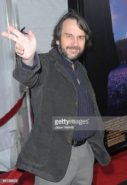 Director Peter Jackson arrives at the premiere of Paramount Pictures' 'The Lovely Bones' at Grauman's Chinese Theatre on December 7 2009 in Hollywood...