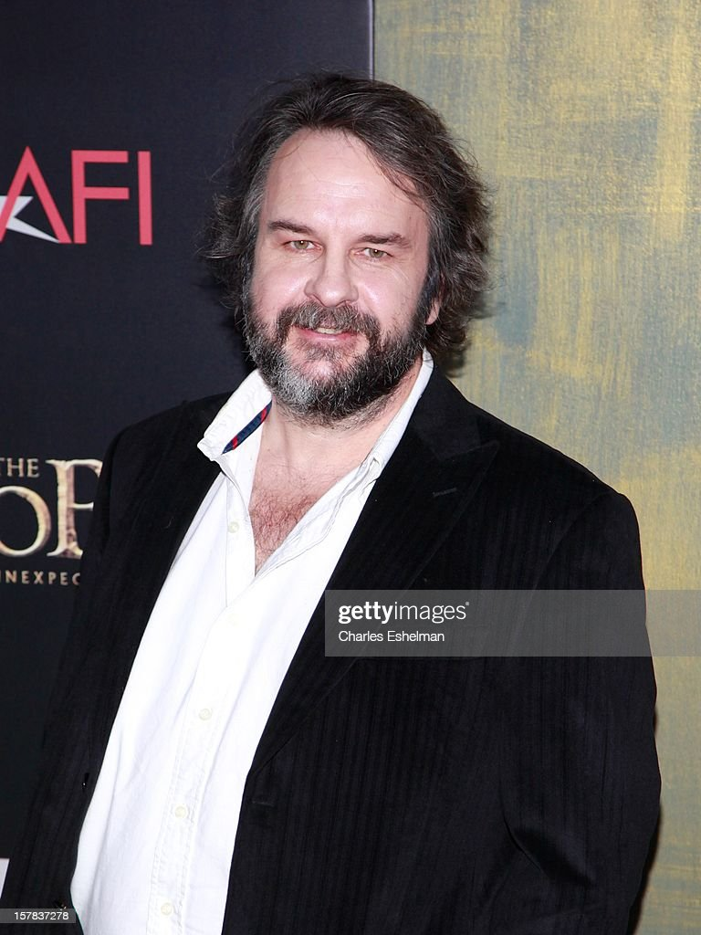 Director <a gi-track='captionPersonalityLinkClicked' href=/galleries/search?phrase=Peter+Jackson+-+Filmmaker&family=editorial&specificpeople=203018 ng-click='$event.stopPropagation()'>Peter Jackson</a> attends 'The Hobbit: An Unexpected Journey' premiere at the Ziegfeld Theater on December 6, 2012 in New York City.