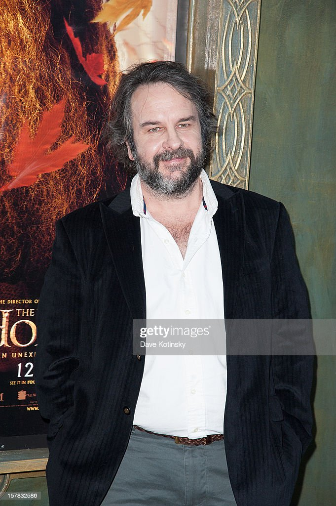 Director <a gi-track='captionPersonalityLinkClicked' href=/galleries/search?phrase=Peter+Jackson+-+Filmmaker&family=editorial&specificpeople=203018 ng-click='$event.stopPropagation()'>Peter Jackson</a> attends 'The Hobbit: An Unexpected Journey' New York premiere benefiting AFI at Ziegfeld Theater on December 6, 2012 in New York City.