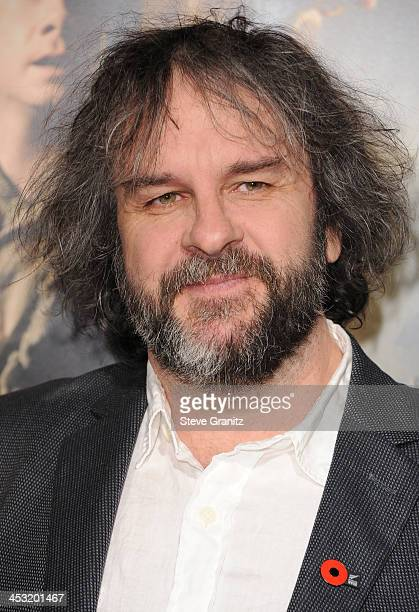 Director Peter Jackson attends the Los Angeles premiere of 'The Hobbit The Desolation Of Smaug' at TCL Chinese Theatre on December 2 2013 in...