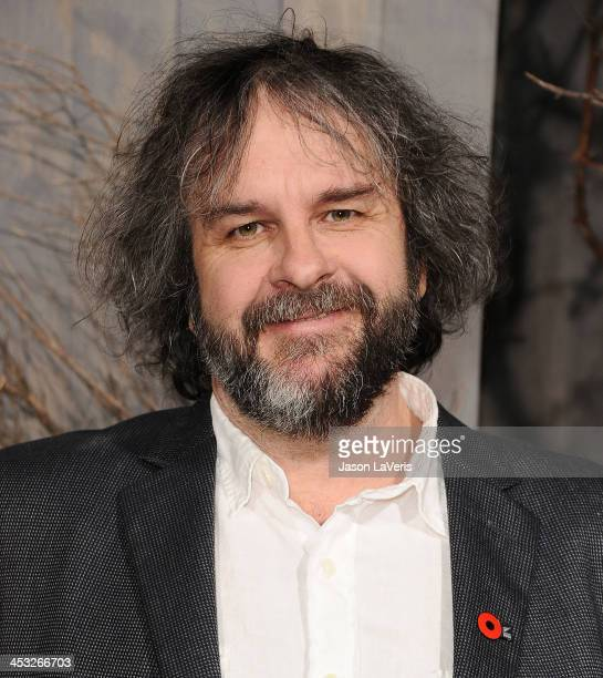 Director Peter Jackson attends the premiere of 'The Hobbit The Desolation Of Smaug' at TCL Chinese Theatre on December 2 2013 in Hollywood California
