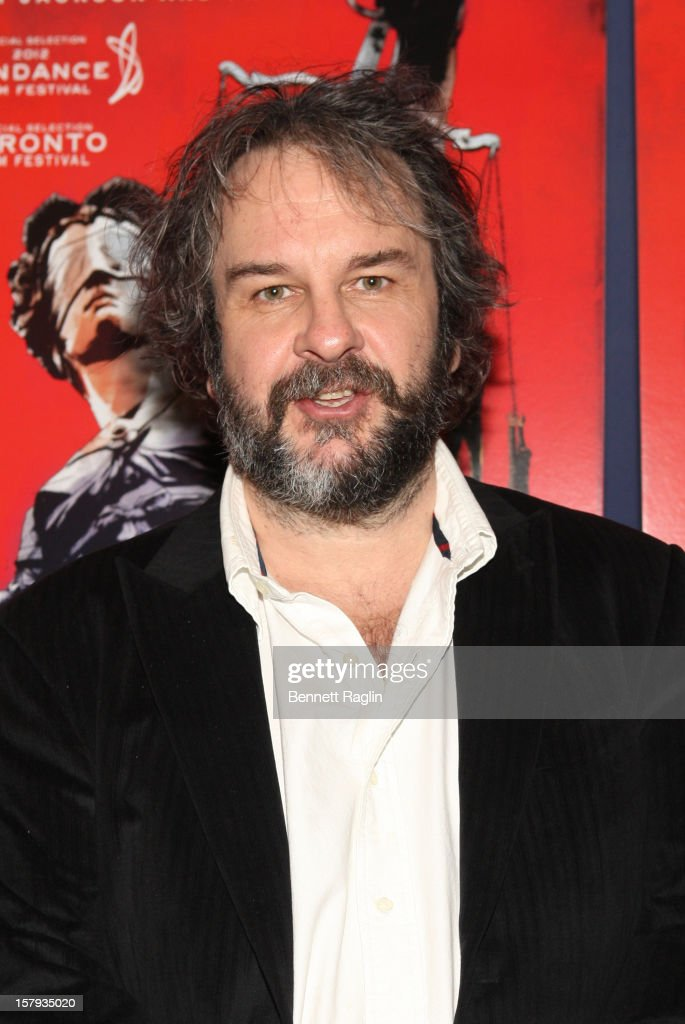 Director Peter Jackson attends the 'West Of Memphis' premiere at Florence Gould Hall on December 7, 2012 in New York City.