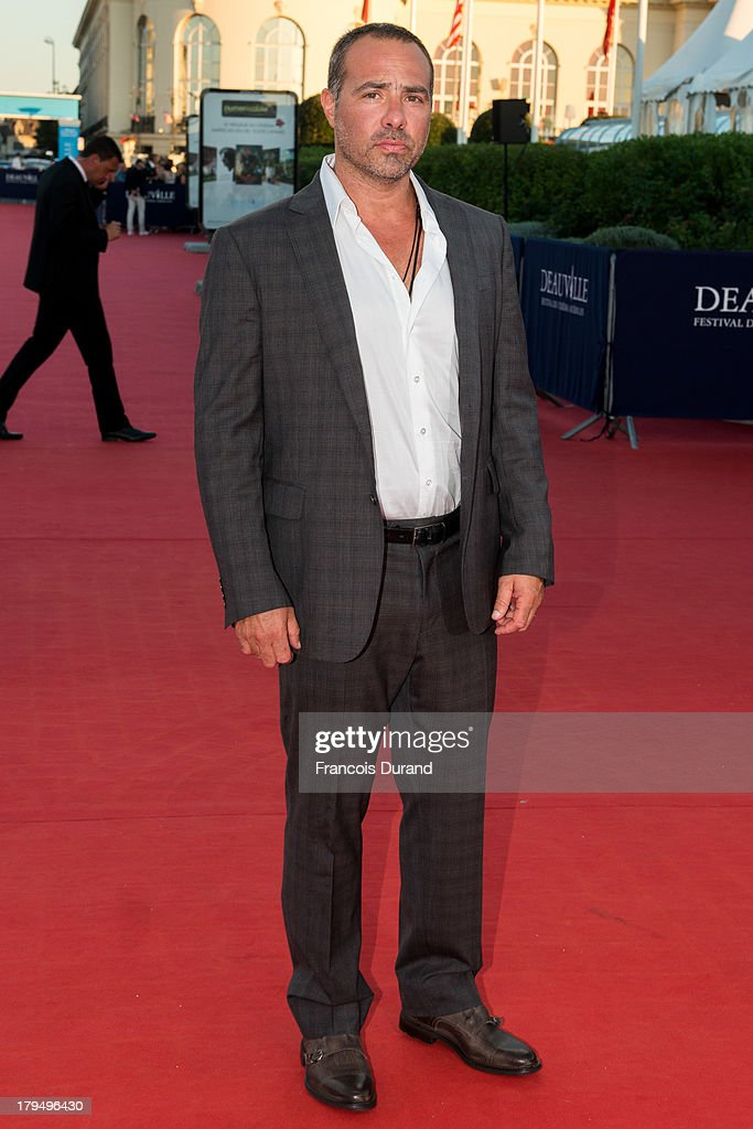 Director Peter Landesman arrives at the premiere of the film 'Parkland' during the 39th Deauville American Film Festival on September 4, 2013 in Deauville, France.