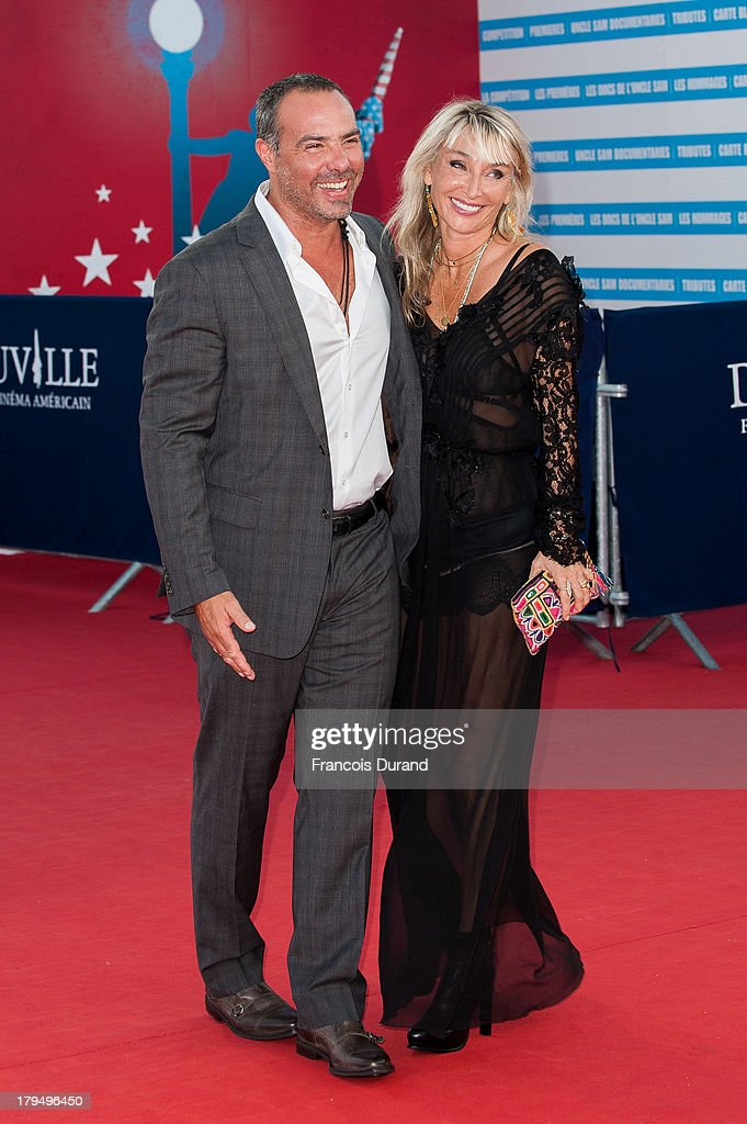 Director Peter Landesman arrives with his wife at the premiere of the film 'Parkland' during the 39th Deauville American Film Festival on September 4, 2013 in Deauville, France.