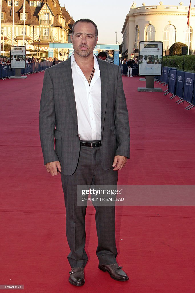 US director Peter Landesman poses on the red carpet before the screening of 'Parkland', which he directed, on September 4, 2013, as part of the Deauville US Film Festival, in the French northwestern sea resort of Deauville.