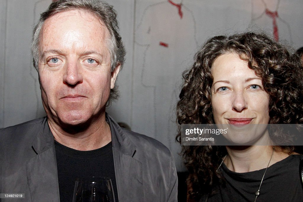Director Peter Lynch (L) and actress Sarah Christie attend 'City to City Cocktail Party' at F-Stop during the 2011 Toronto International Film Festival at F-Stop on September 13, 2011 in Toronto, Canada.