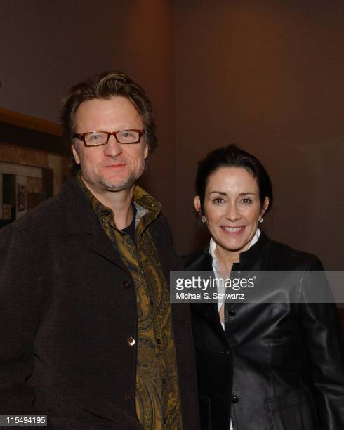 Director Phil Cooke and Patricia Heaton during 'Thou Shalt Laugh' a Christian Comedy Show Hosted by Patricia Heaton March 15 2006 at Faith Community...