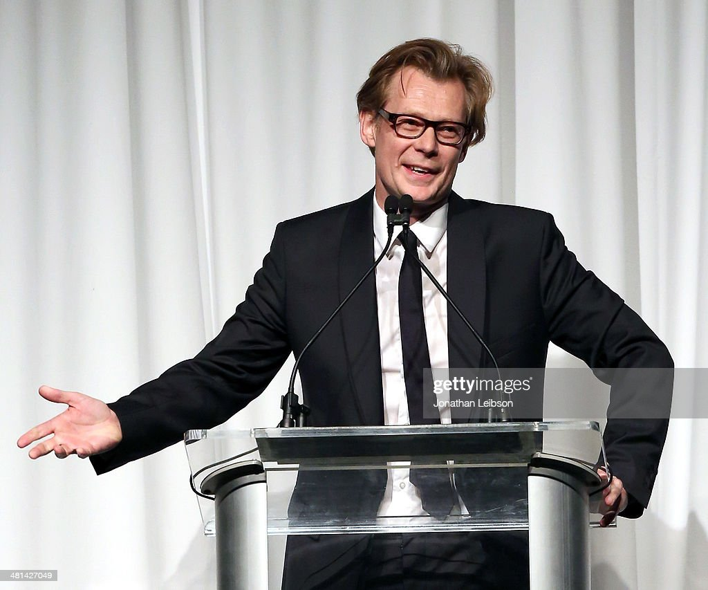 Director Philippe Vergne attends MOCA's 35th Anniversary Gala presented by Louis Vuitton at The Geffen Contemporary at MOCA on March 29, 2014 in Los Angeles, California.