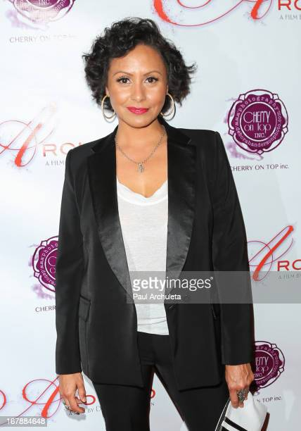 Director / Photographer Deborah Anderson attends the Los Angeles premiere of 'Aroused' at the Landmark Theater on May 1 2013 in Los Angeles California