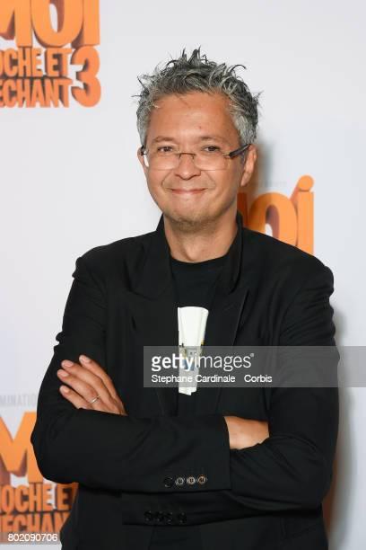 Director Pierre Coffin attends the Despicable Me Paris Premiere at Cinema Gaumont Marignan on June 27 2017 in Paris France