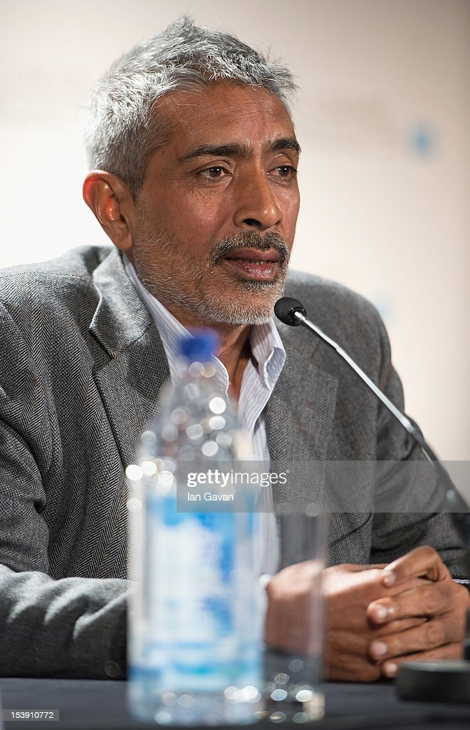 Director Prakash Jha attends the 'Chakravyuh' press conference during the 56th BFI London Film Festival at the Empire Leicester Square on October 11, 2012 in London, England.