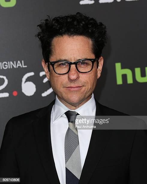 Director / Producer JJ Abrams attends the premiere of Hulu's new series '112263' at Regency Bruin Theatre on February 11 2016 in Los Angeles...