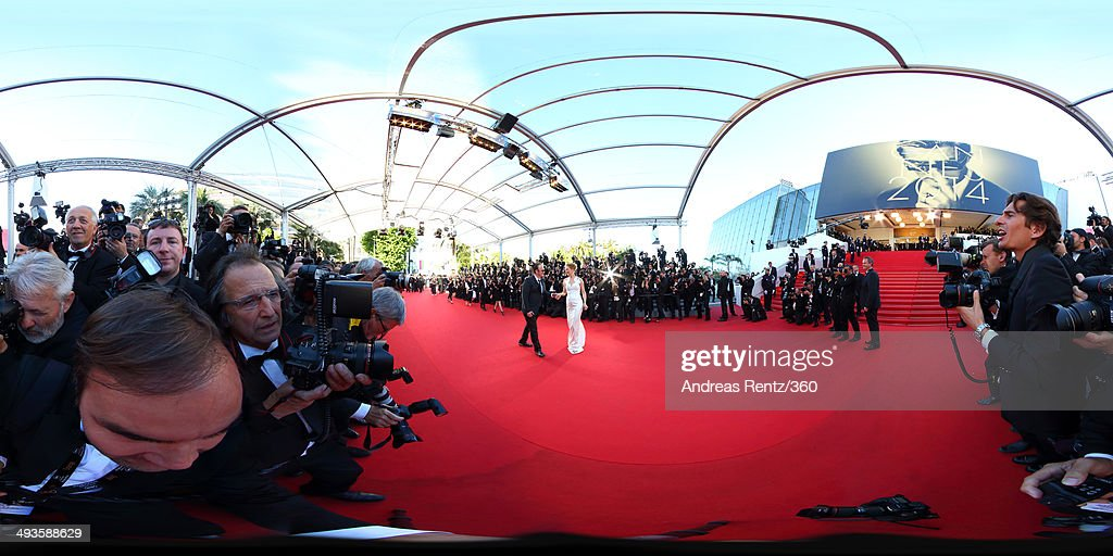 Director <a gi-track='captionPersonalityLinkClicked' href=/galleries/search?phrase=Quentin+Tarantino&family=editorial&specificpeople=171796 ng-click='$event.stopPropagation()'>Quentin Tarantino</a> and actress <a gi-track='captionPersonalityLinkClicked' href=/galleries/search?phrase=Uma+Thurman&family=editorial&specificpeople=171973 ng-click='$event.stopPropagation()'>Uma Thurman</a> attend the Closing Ceremony and 'A Fistful of Dollars' screening during the 67th Annual Cannes Film Festival on May 24, 2014 in Cannes, France.