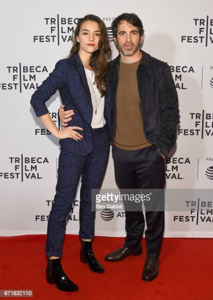 Director Quinn Shephard and Actor Chris Messina attend the 'Blame' Premiere during 2017 Tribeca Film Festival at Cinepolis Chelsea on April 22 2017...