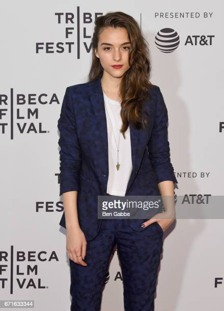 Director Quinn Shephard attends the 'Blame' Premiere during 2017 Tribeca Film Festival at Cinepolis Chelsea on April 22 2017 in New York City