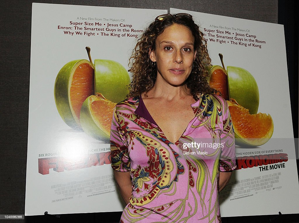 Director Rachel Grady attends the 'Freakonomics' premiere at Cinema 2 on September 29, 2010 in New York City.