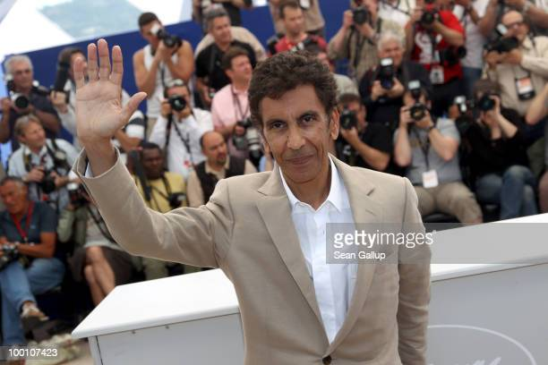 Director Rachid Bouchareb attends the 'Outside Of The Law' Photocall at the Palais des Festivals during the 63rd Annual Cannes Film Festival on May...
