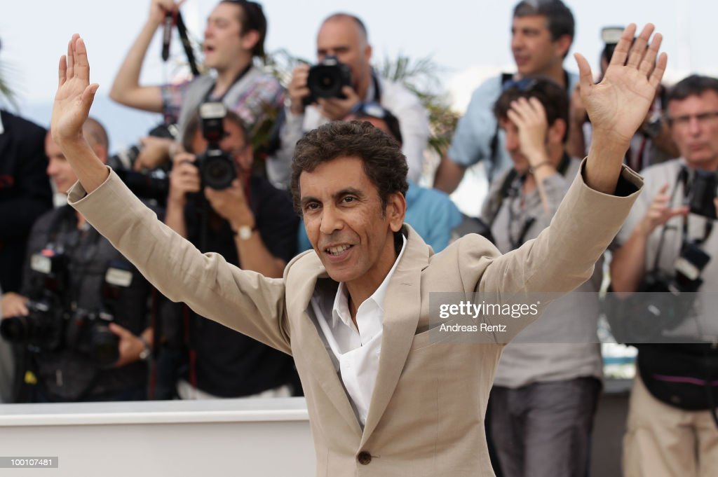 Director Rachid Bouchareb attends the 'Outside Of The Law' Photocall at the Palais des Festivals during the 63rd Annual Cannes Film Festival on May 21, 2010 in Cannes, France.