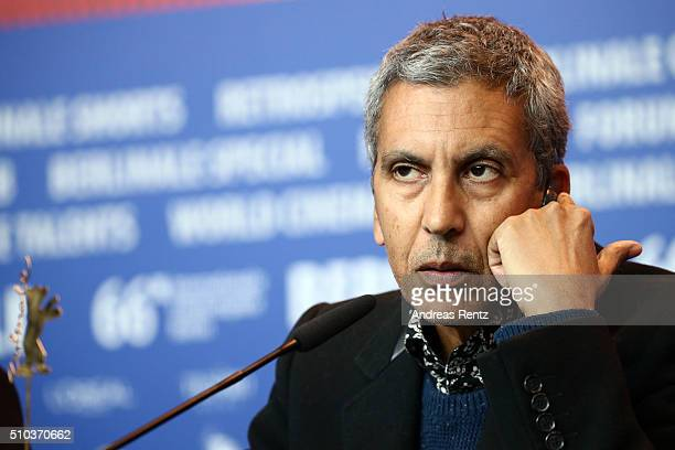 Director Rachid Bouchareb attends the 'Road to Istanbul' press conference during the 66th Berlinale International Film Festival Berlin at Grand Hyatt...