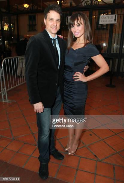 Director Ralph Macchio and actress Karina Smirnoff attend a screening at the Metro at the 29th Santa Barbara International Film Festival on February...