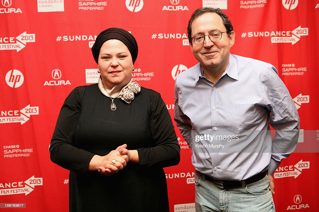 Director Rama Burshtein and Michael Barker attends the 'Fill The Void' premiere at Temple Theater during the 2013 Sundance Film Festival on January 20, 2013 in Park City, Utah.