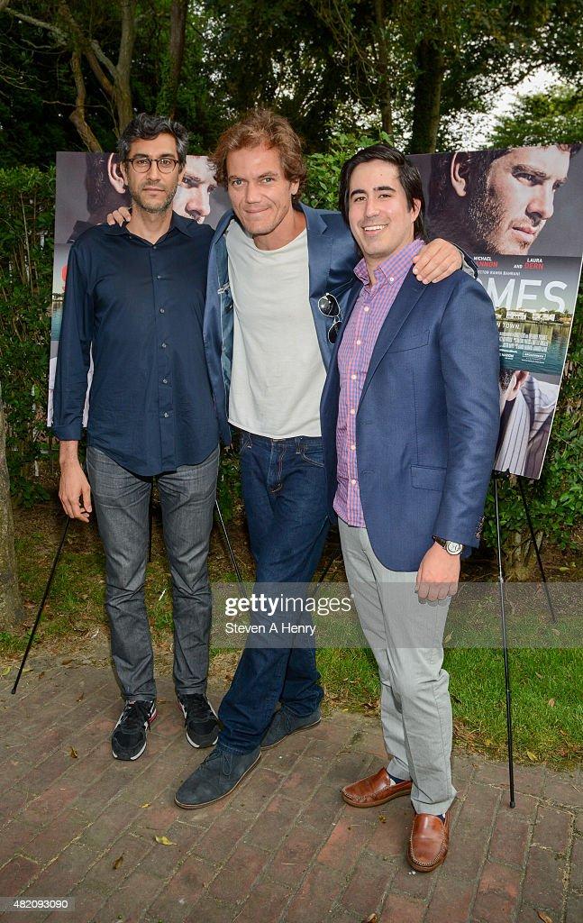 Director Ramin Bahrani , actor Michael Shannon and producer Daniel ...