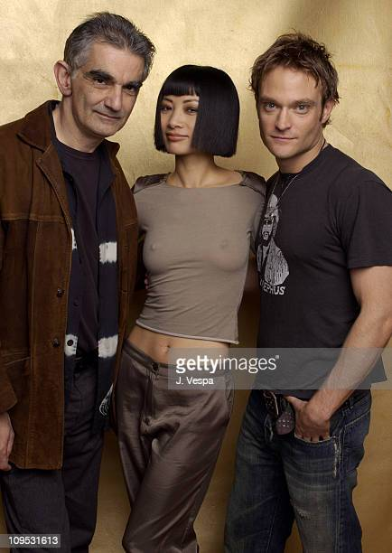 Director Ramin Niami Bai Ling and Chad Allen during 2003 Tribeca Film Festival 'Paris' Portraits at WireImage Portrait Studio Michael Perez Pop Art...
