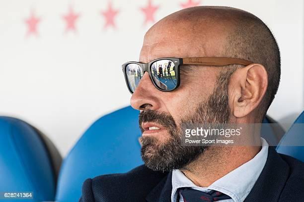Director Ramon Rodrguez Verdejo 'Monchi' of Sevilla FC prior to their La Liga match between Deportivo Leganes and Sevilla FC at the Butarque...