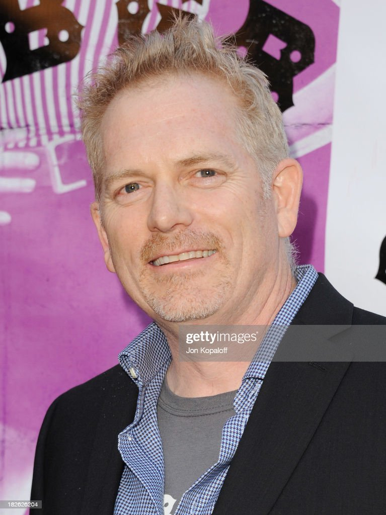 Director Randall Miller arrives at the Los Angeles Premiere 'CBGB' at ArcLight Cinemas on October 1, 2013 in Hollywood, California.
